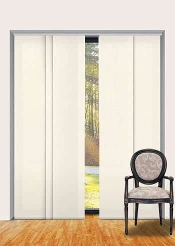 Vanilla Seville Translucent Panel Glide Blinds