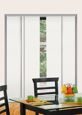 Clouds St Clair Dimout Panel Glide Blinds
