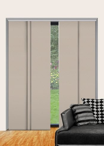 Latte St Clair Dimout Panel Glide Blinds