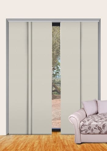 Whisper St Clair Dimout Panel Glide Blinds