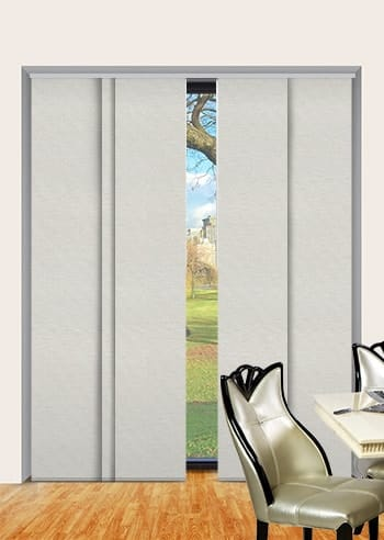 Eggshell Toodyay Blockout Panel Glide Blinds