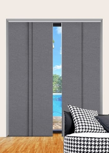 Granite Toodyay Blockout Panel Glide Blinds