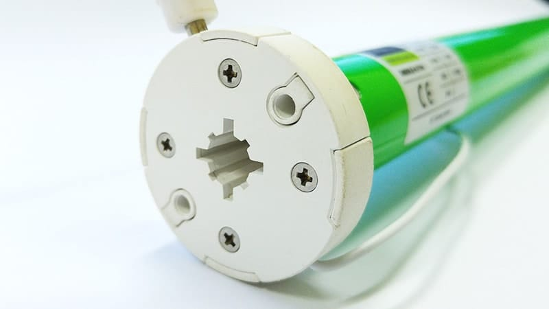Roller Blinds DC Motor Closeup