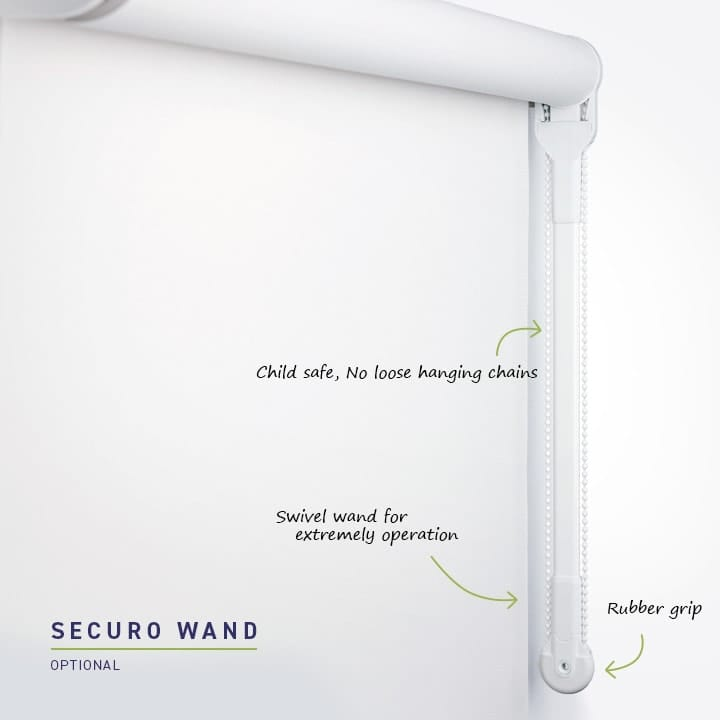 Roller Blind Securo Wand