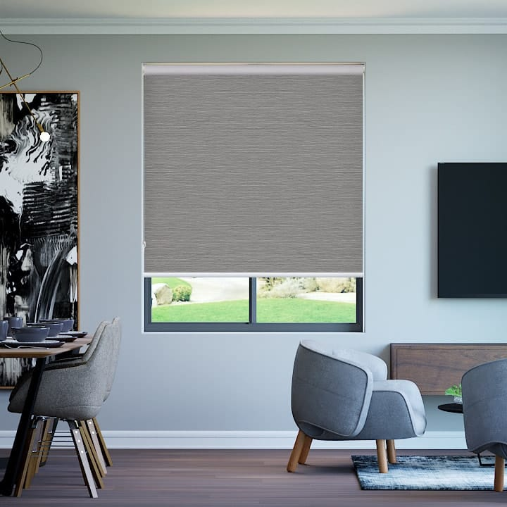 Dove Balmoral Blockout Roller Blinds