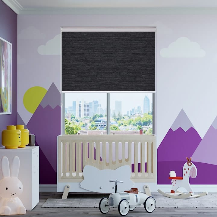 Jet Balmoral Blockout Roller Blinds