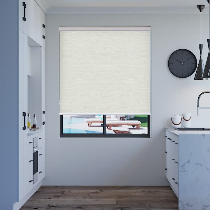 Pearl Balmoral Blockout Roller Blinds