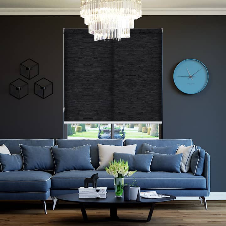 Midnight Berkley Translucent Roller Blinds