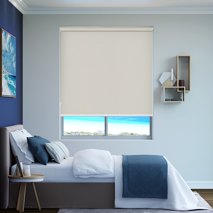 Fennel Bondi Blockout Roller Blinds