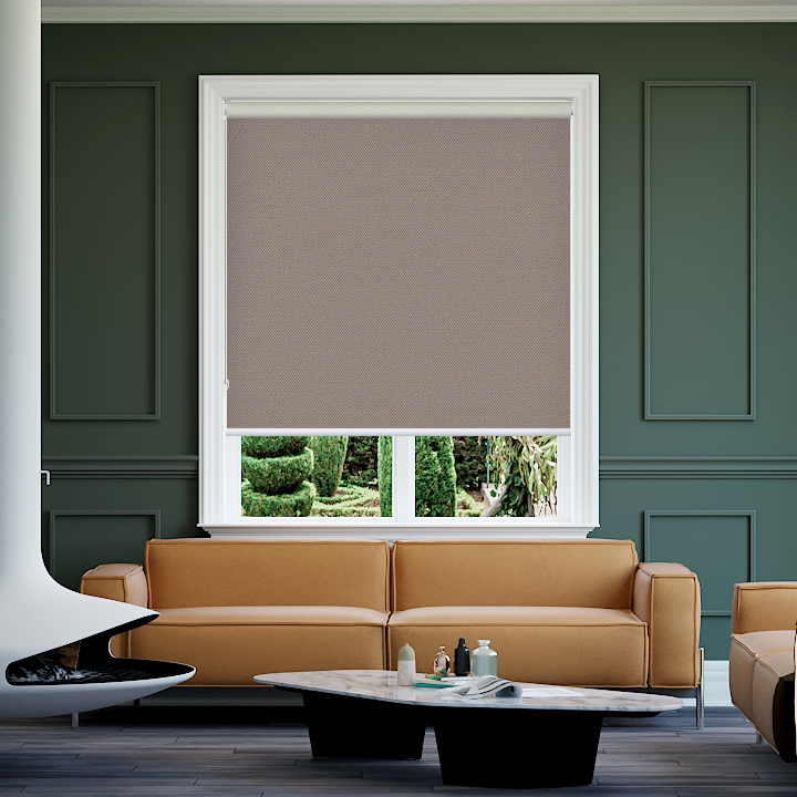 Malt Bondi Blockout Roller Blinds