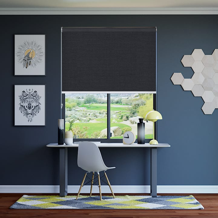 Raven Cai Blockout Roller Blinds