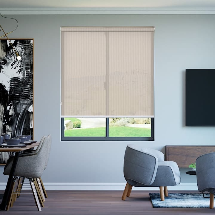 Sandstone Elite Sunscreen Roller Blinds