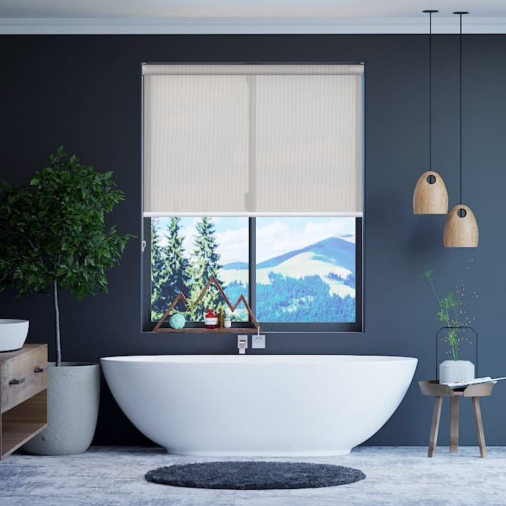 Whisper Elite Sunscreen Roller Blinds