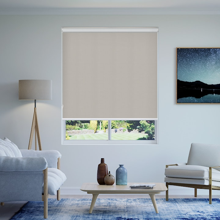 Quarter Cragieburn Foundation Blockout Roller Blinds