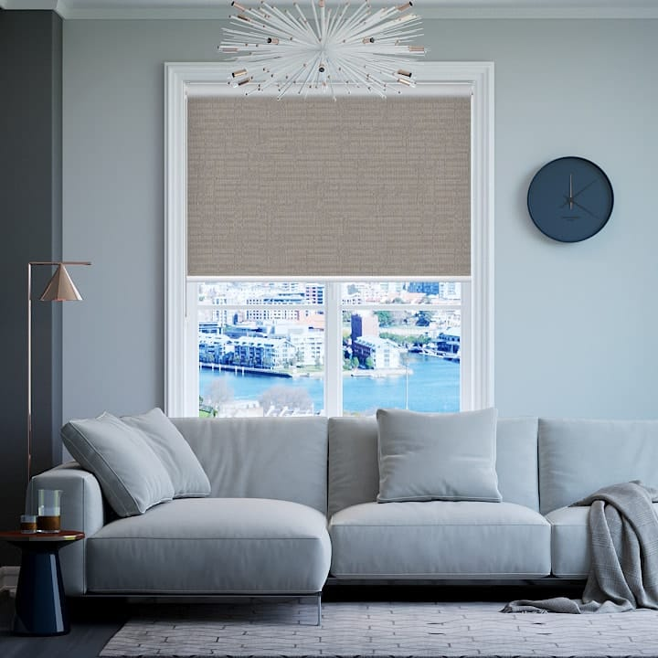 Chinchilla Lisbon Blockout Roller Blinds