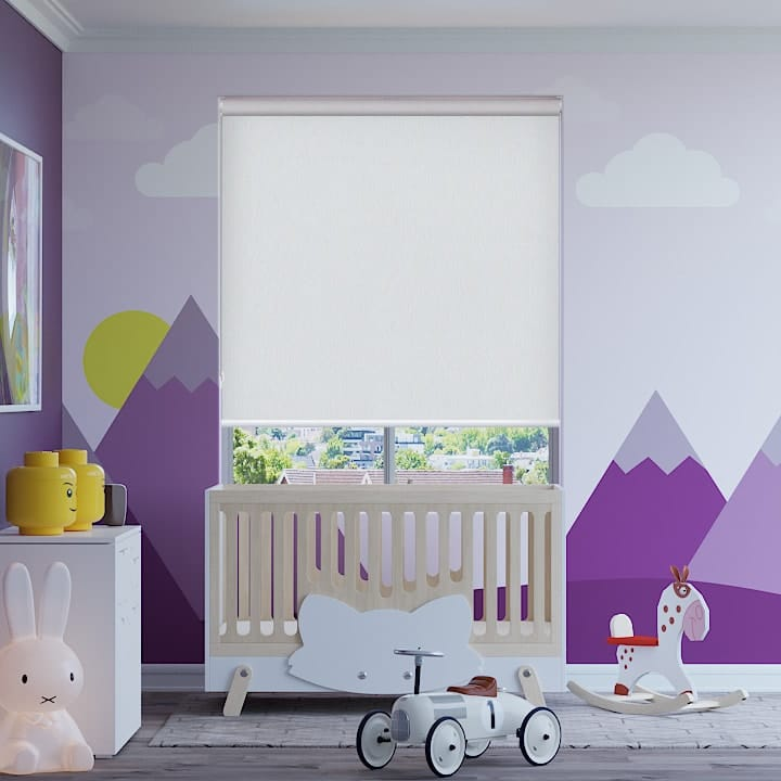 Plaster Madrid Blockout Roller Blinds