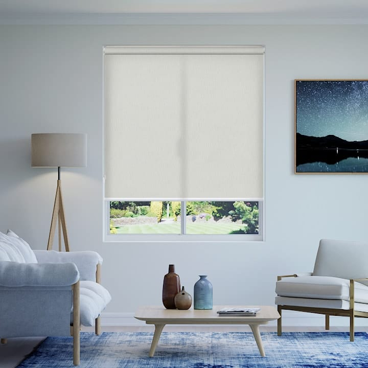 Limestone Madrid Translucent Roller Blinds