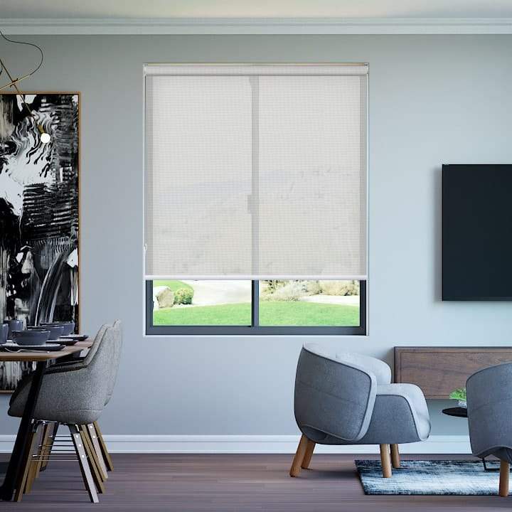 White Roller Blinds : Easy diy blinds custom made in australia