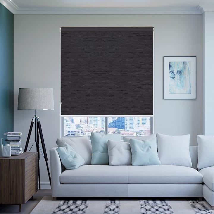 Gravel Monte Carlo Blockout Roller Blinds