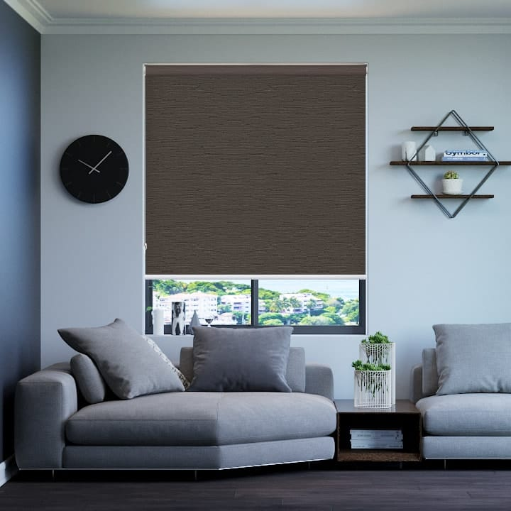 Stone Monte Carlo Blockout Roller Blinds