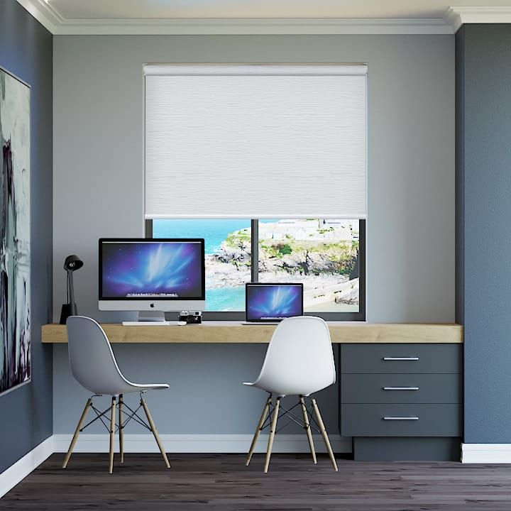 Whisper Monte Carlo Blockout Roller Blinds