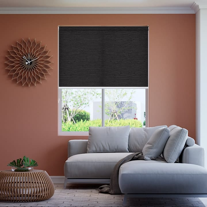 Gravel Monte Carlo Translucent Roller Blinds