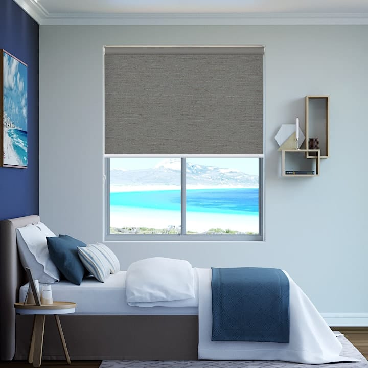 Shale Quebec Blockout Roller Blinds