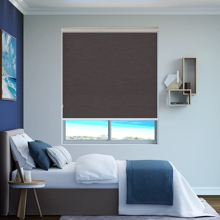 Stone Rio Blockout Roller Blinds