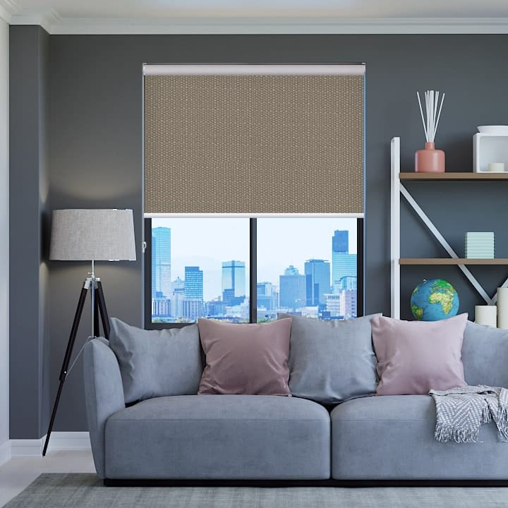 Stone Santini Blockout Roller Blinds