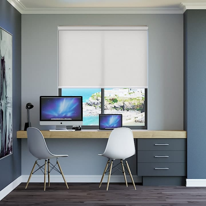 Dove Seville Translucent Roller Blinds