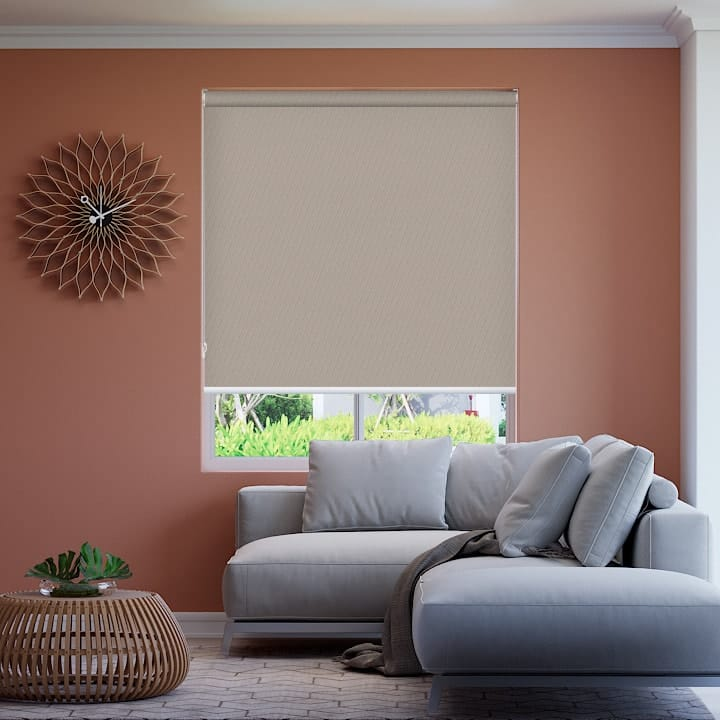 Latte St Clair Dimout Roller Blinds