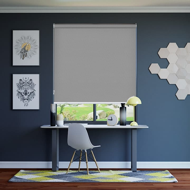 Pale-Grey St Clair Dimout Express Roller Blinds