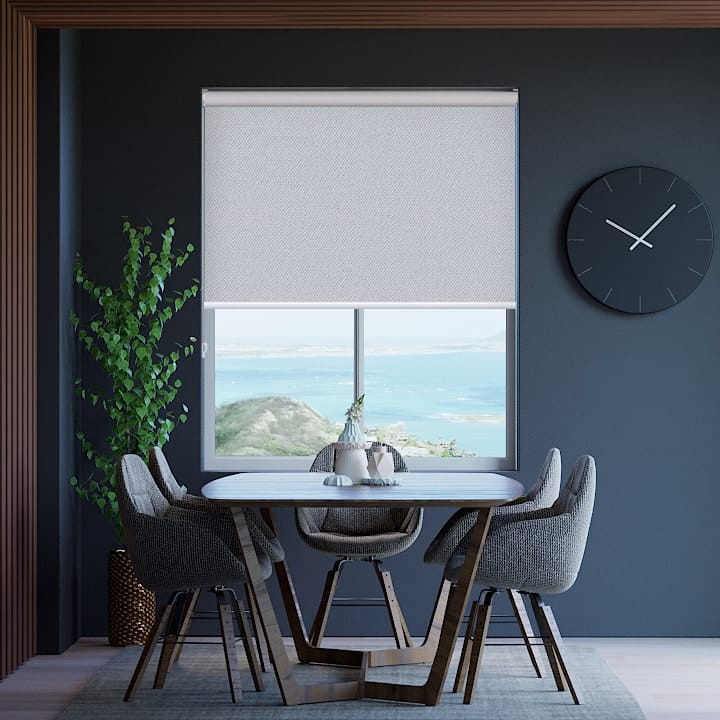 Pewter Toodyay Blockout Roller Blinds