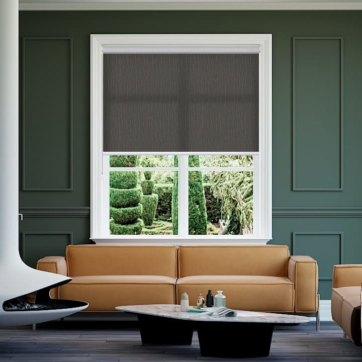 Slate Tremont Translucent Roller Blinds