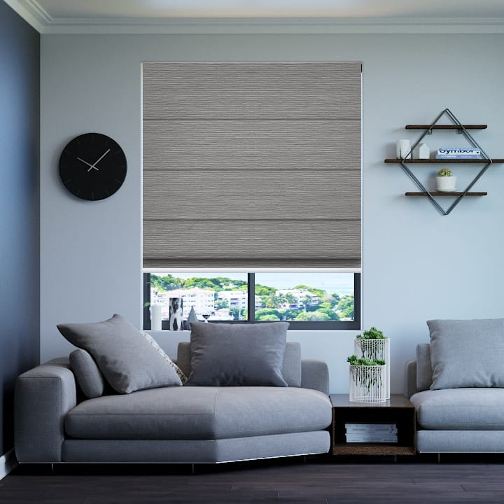 Dove Balmoral Blockout Roman Blinds