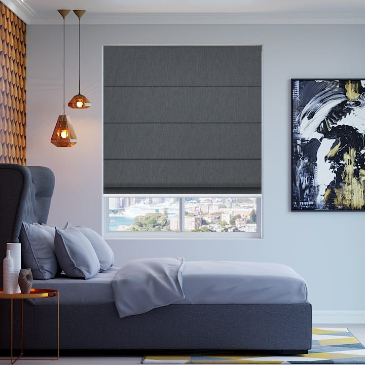 Baltic Madrid Blockout Roman Blinds
