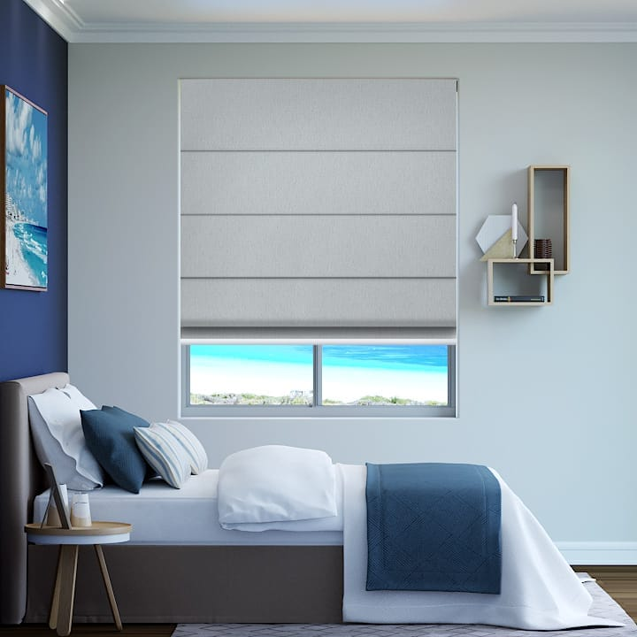Mineral Madrid Blockout Roman Blinds