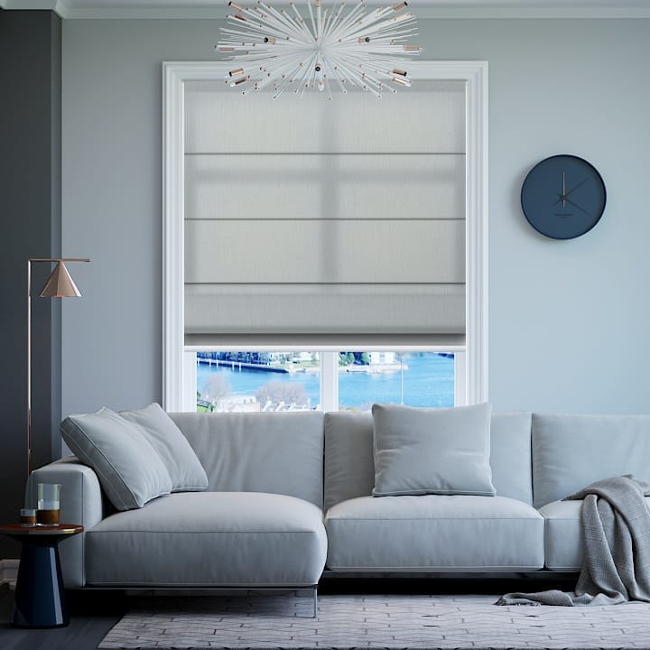 Mineral Madrid Translucent Roman Blinds