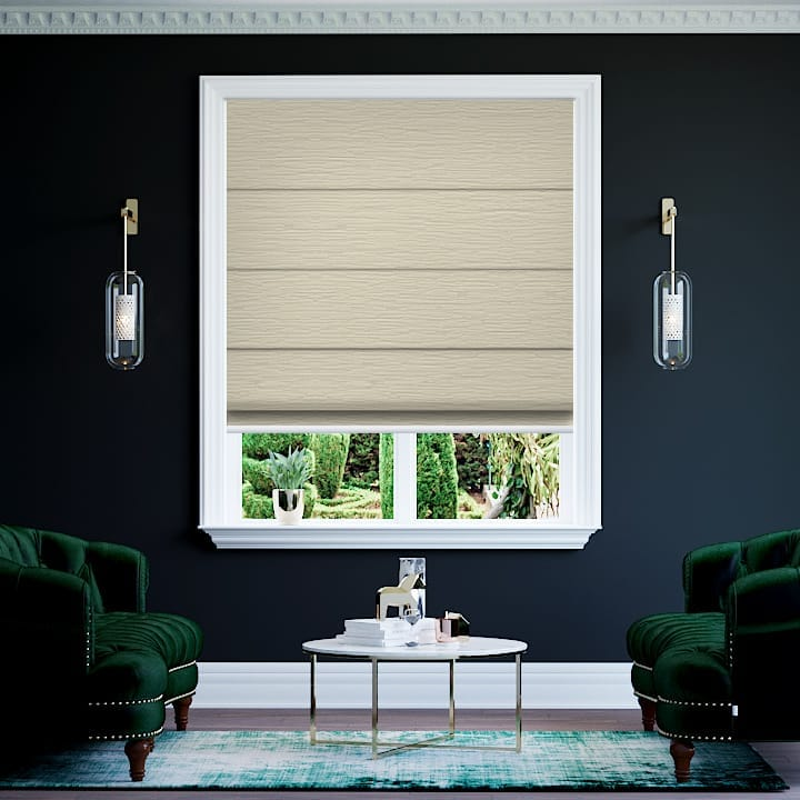 Sesame Monte Carlo Blockout Roman Blinds