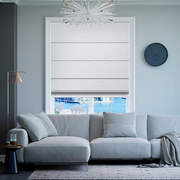 Whisper Monte Carlo Blockout Roman Blinds
