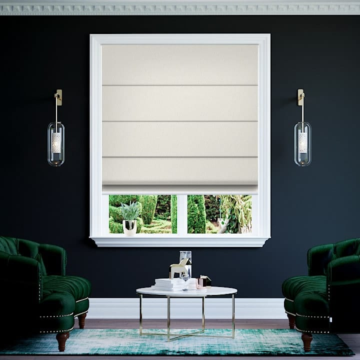 Pearl Lusta Paris Blockout Roman Blinds