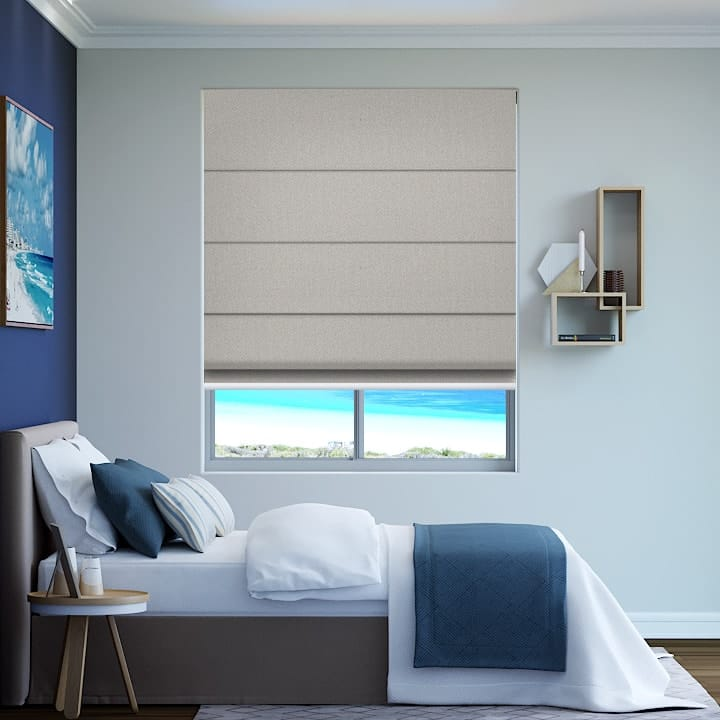 Truffle Paris Blockout Roman Blinds