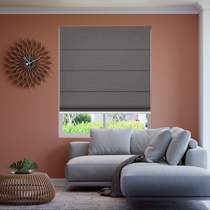 Delta Santini Blockout Roman Blinds