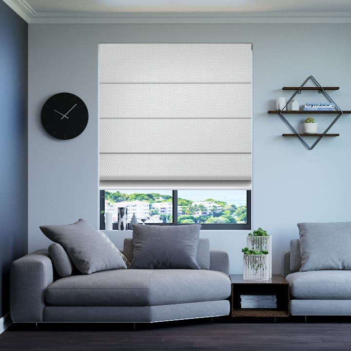 white santini blockout roman blinds online half price blinds