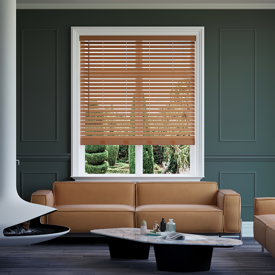 Timber-look Nova Blinds ()