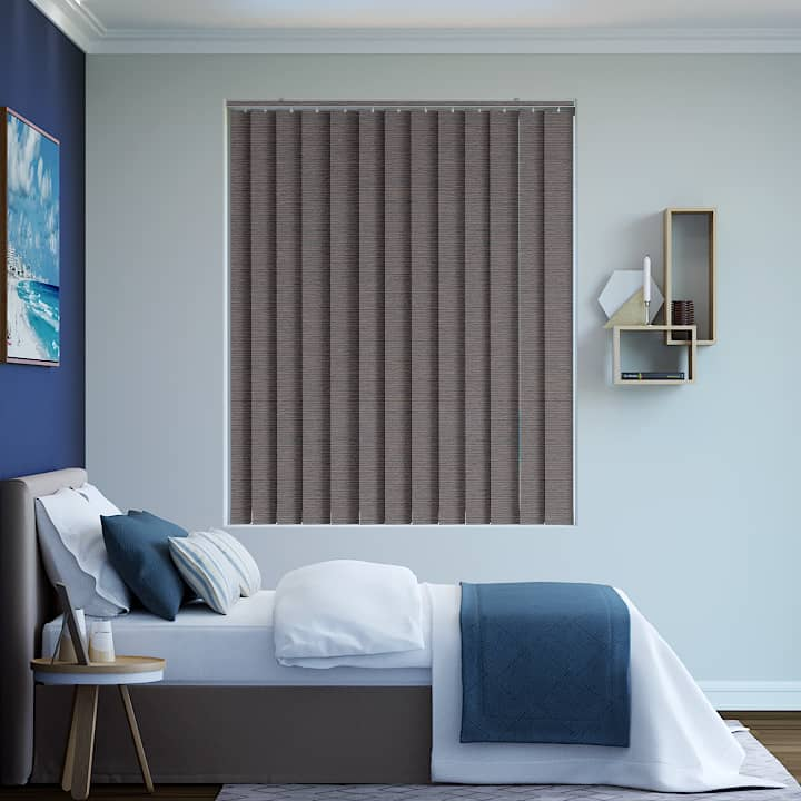 Bourneville Balmoral Blockout Vertical Blinds