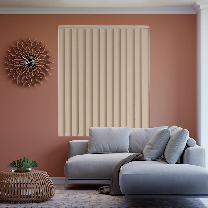 Brushwood Elite Blockout Vertical Blinds Online Half