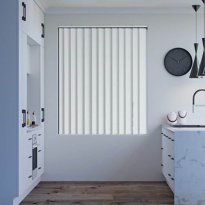 Ice Elite Blockout Vertical Blinds