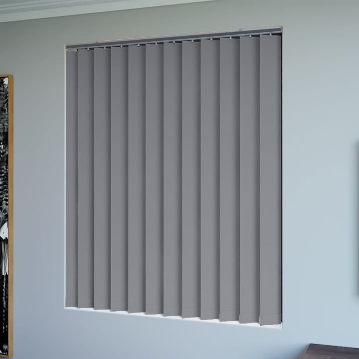 Ironstone Elite Blockout Vertical Blinds Online Half
