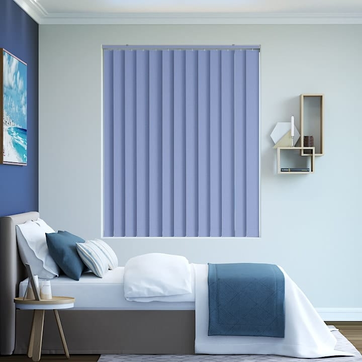 Ord Blue Elite Blockout Vertical Blinds